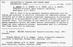 Thumbnail of APPLICATIONS OF COHERENT ANTI-STOKES RAMAN SPECTROSCOPY…. 15 min (1:47)