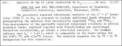 Thumbnail of ANALYSIS OF THE UV LASER TRANSITION IN $Br_{2}$