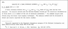 Thumbnail of ANALYSIS OF A FERMI RESONANCE BETWEEN $\nu_{9} +\nu_{12}$ AND $\nu_{8} + 2\nu_{4}$ OF $C_{2}H_{6}{^{*}}$
