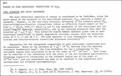 Thumbnail of THEORY OF PURE ROTATIONAL TRANSITIONS IN $C_{2}H_{6}$