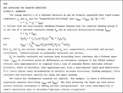 Thumbnail of NEW QUESTIONS FOR QUANTUM CHEMISTRY