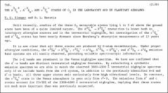 Thumbnail of THE $A^{3}\Sigma_{u}^{+}, A'\ ^{3}\Delta_{u}$, AND $c^{1}\Sigma_{u}^{-}$ STATES OF $O_{2}$ IN THE LABORATORY AND IN PLANETARY AIRGLOWS