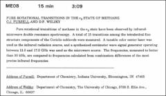 Thumbnail of PURE ROTATIONAL TRANSITIONS IN THE $\nu_{3}$ STATE OF METHANE
