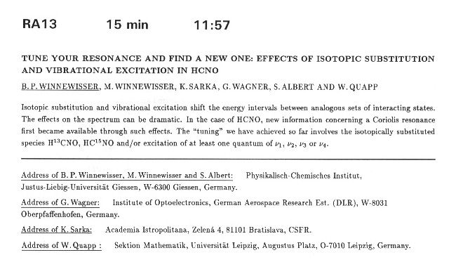 TUNE YOUR RESONANCE AND FIND A NEW ONE: EFFECTS OF ISOTOPIC