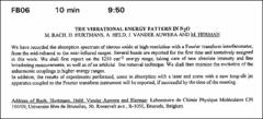 Thumbnail of THE VIBRATIONAL ENERGYI PATTERN IN $N_{2}O$
