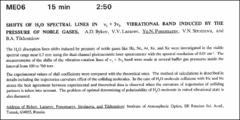 Thumbnail of SHIFTS OF $H_{2}O$ SPECTRAL LINES IN $\nu_{1} + 3\nu_{3}$ VIBRATIONAL BAND INDUCED BY THE PRESSURE OF NOBLE GASES