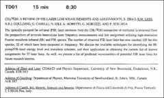 Thumbnail of $CH_{3}^{18}OH$: A REVIEW OF FIR LASER LINE MEASUREMENTS AND ASSIGNMENTS