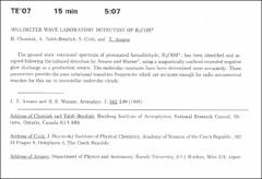 Thumbnail of MILLIMETER- WAVE LABORATORY DETECTION OF $H_{2}$$COH^{+}$