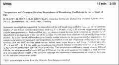 Thumbnail of TEMPERATURE AND QUANTUM NUMBER DEPENDENCE OF BROADENING COEFFICIENTS IN THE $\nu_{3}$ BAND of $SO_{2}$