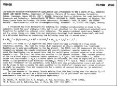 Thumbnail of LOW-BARRIER ROTATION-PSEUDOROTATION HAMILTONIAN AND APPLICATION TO THE B STATE OF $Na_{3}$
