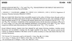 Thumbnail of OBSERVATION OF THE $2^{3}\Sigma^{+}_{g}-1^{3}\Sigma^{+}_{u}$ and $1^{3}\Pi_{g}-1^{3}\Sigma^{+}_{u}$ TRANSITIONS OF THE TRIPLET NaK MOLECULE ON THE SURFACE OF HELIUM CLUSTERS