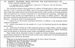 Thumbnail of ENERGY TRANSFER CROSS SECTIONS FOR ELECTRONICALLY EXCITED IODINE MOLECULES$^{\ast}$