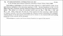 Thumbnail of $F^{19}$ SPIN-ROTATION INTERACTION IN $OF_{2}{^{\ast}}$