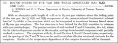 Thumbnail of BOUND STATES OF THE VAN DER WAALS MOLECULES $H_{2}Ar, H_{2}Kr$ AND $H_{2}Xe$