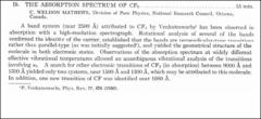 Thumbnail of THE ABSORPTION SPECTRUM OF $CF_{2}$