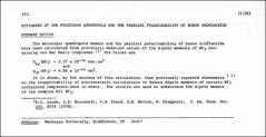 Thumbnail of ESTIMATES OF THE MOLECULAR QUADRUPOLE AND THE PARALLEL POLARIZABILITY OF BORON TRIFLUORIDE