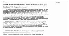 Thumbnail of A. DOUBLING TRANSITIONS OF METAL OXIDES MEASURED BY MODR: CUO