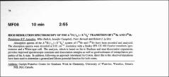 Thumbnail of HIGH RESOLUTION SPECTROSCOPY OF THE $A^{3}\Pi (1_{u})-X^{1}\Sigma_{g}^{+}$ TRANSITION OF $I^{79}Br$ AND $I^{81}Br$