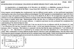 Thumbnail of INVESTIGATION OF EXOERGIC COLLISIONS IN MIXED SPECIES TRAP: Na/Rb, Na/K, Rb/K