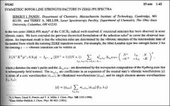 Thumbnail of SYMMETRIC ROTOR LINE STRENGTH FACTORS IN ZEKE-PFI SPECTRA