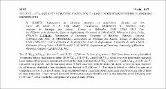 Thumbnail of THE $X ^{2}\Pi_{i}$, $A ^{2}\Delta_{i}$ AND $B^{2}\Sigma^{+}$ LOW-LYING STATES OF NiCl: LASER INDUCED AND FOURIER TRANSFORM EXPERIMENTS