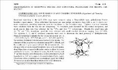 Thumbnail of MEASUREMENTS OF MICROWAVE SPECTRA AND STRUCTURAL PARAMETERS FOR METHYL $FERROCENE^{a}$