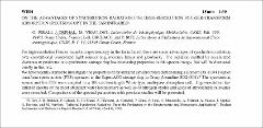 Thumbnail of ON THE ADVANTAGES OF SYNCHROTRON RADIATION FOR HIGH-RESOLUTION FOURIER-TRANSFORM ABSORPTION SPECTROSCOPY IN THE FAR INFRARED