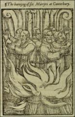 Thumbnail of Six martyrs at canterbury.