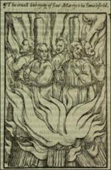 Thumbnail of Five martyrs at Smithfield.