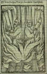 Thumbnail of Three (two) martyrs, Smithfield.