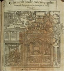 Thumbnail of The reforms in the English Church made by Edward VI (a composite of three scenes)