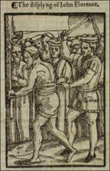 Thumbnail of The scourging of man [formerly John Florence] in 1424