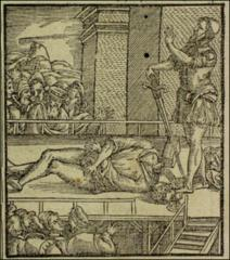 Thumbnail of The decapitation of George Scherrer