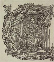 Thumbnail of Queen Elizabeth as Emperor Constantine in the initial