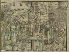 Thumbnail of The martyrdom of William Tyndale in 1536