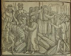 Thumbnail of The martyrdom of John Warne and John Cardmaker.