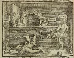 Thumbnail of Four martyrs in Lollards' Tower.