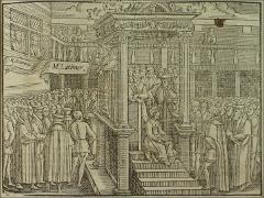 Thumbnail of Bishop Latimer preaching before King Edward VI at Westminster.