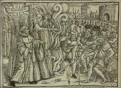 Thumbnail of The burning of Cranmer in 1556