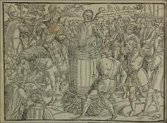 Thumbnail of John Badby boiled in a barrel.