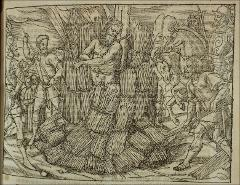 Thumbnail of The burning of Jerome of Prague in 1416