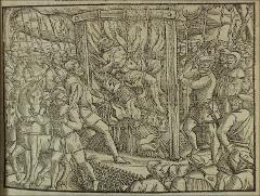 Thumbnail of The burning of Sir John Oldcastle in 1417