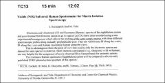 Thumbnail of Visible (NIR)/Infrared/ Raman Spectrometer for Matrix Isolation Spectroscopy