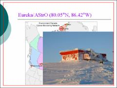 Thumbnail of GROUND-BASED MEASUREMENTS MADE WITH PARIS-IR DURING THE ACE CANADIAN ARCTIC VALIDATION CAMPAIGN IN 2004 AND IN 2005