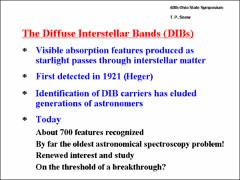 Thumbnail of THE CHEMISTRY OF CANDIDATE MOLECULAR ION CARRIERS OF THE DIFFUSE INTERSTELLAR BANDS