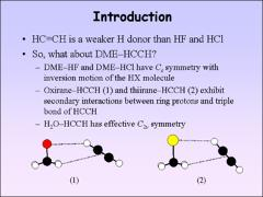 Thumbnail of EFFECTIVE $C_{2v}$ SYMMETRY IN THE DIMETHYL ETHER--ACETYLENE DIMER