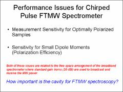 Thumbnail of THE Q FACTOR: A COMPARISON BETWEEN CHIRPED PULSE AND CAVITY FOURIER TRANSFORM MICROWAVE TECHNIQUES