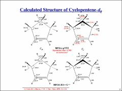 Thumbnail of AB INITIO AND DFT CALCULATIONS FOR THE VIBRATIONAL FREQUENCIES AND BARRIER TO PLANARITY OF CYCLOPENTENE AND ITS DEUTERATED ISOTOPOMERS
