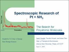 Thumbnail of SPECTROSCOPIC RESEARCH OF Pt + NH$_3$1