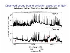 Thumbnail of FOURIER TRANSFORM EMISSIN SPECTRUM OF THE NeH RYDBERG MOLECULE
